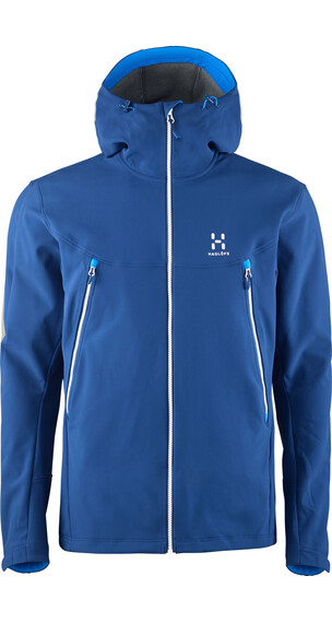 Haglöfs M's Gecko Hood HURRICANE BLUE